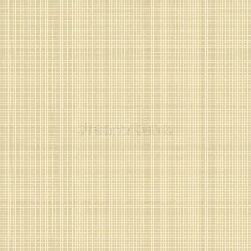 Naadloze de textuur van het canvas herhaalt patroon vector illustratie