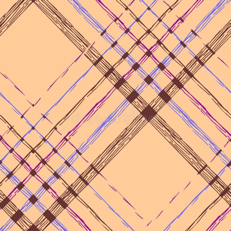 Naadloze geometrische patroon abstracte achtergrond stock illustratie