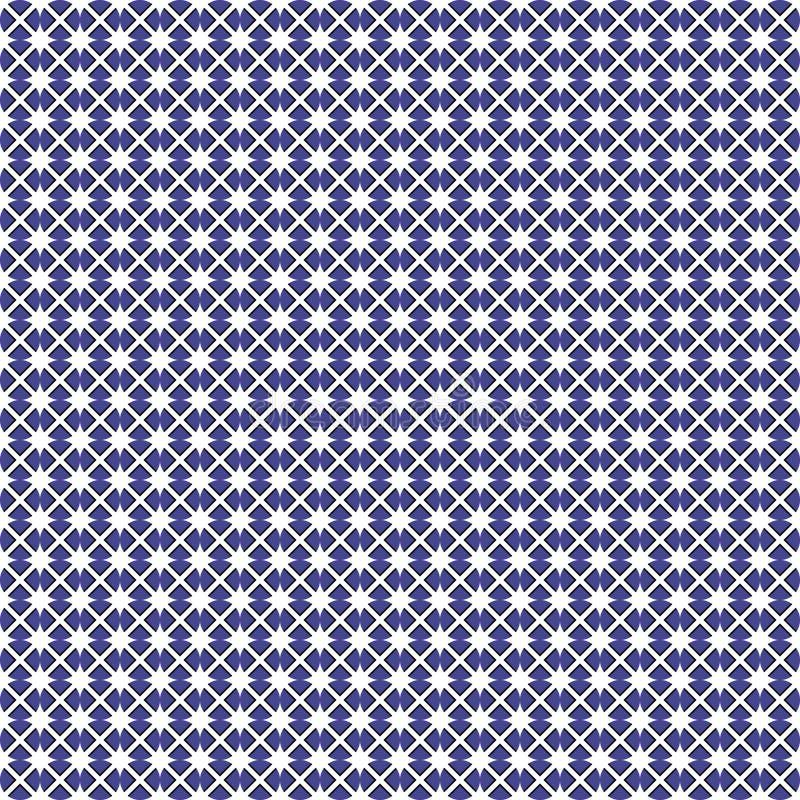 Naadloze geometrische textuur royalty-vrije illustratie