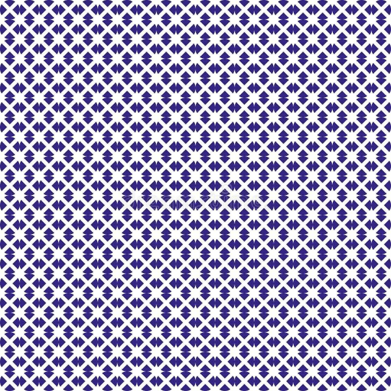 Naadloze geometrische textuur stock illustratie