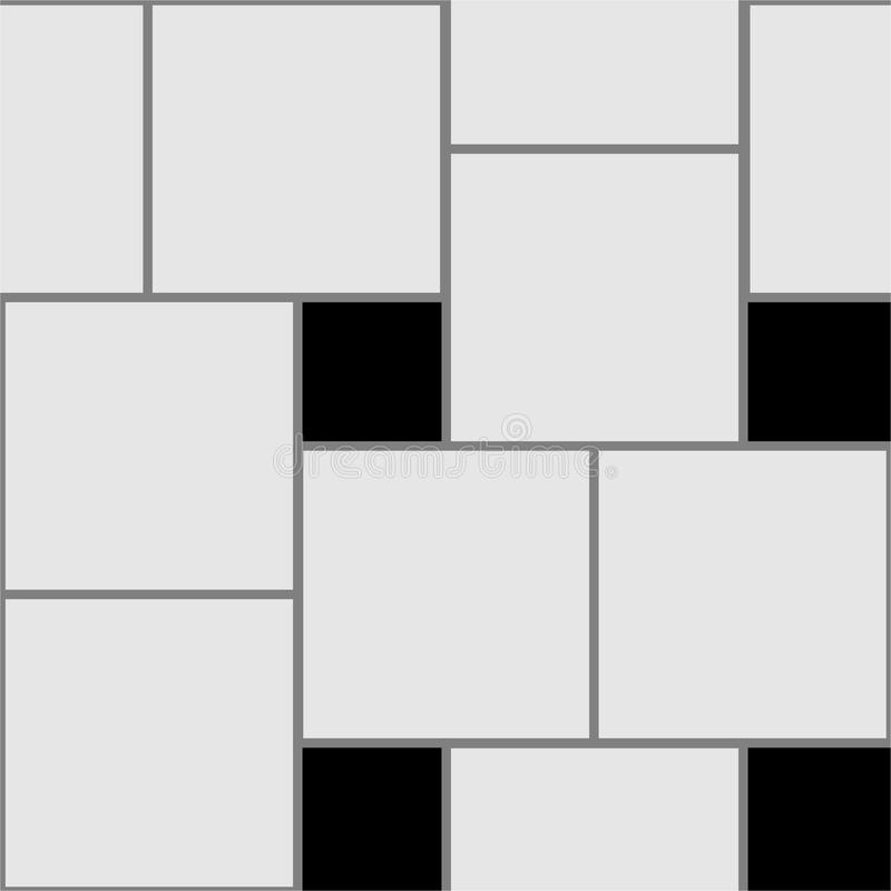 Naadloze het doorweven patroontextuur royalty-vrije illustratie