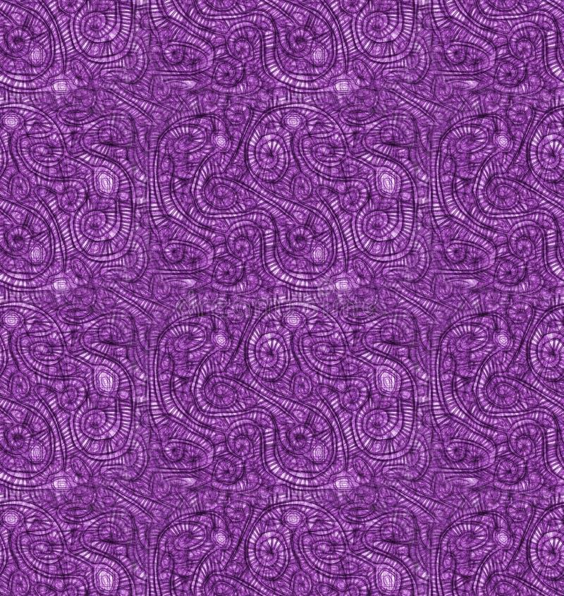 Naadloze het Patroonachtergrond van de cocontextuur royalty-vrije illustratie