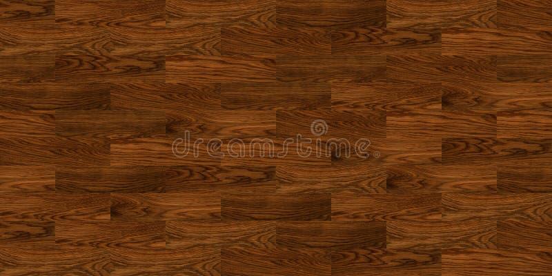 Naadloze houten vloertextuur royalty-vrije illustratie