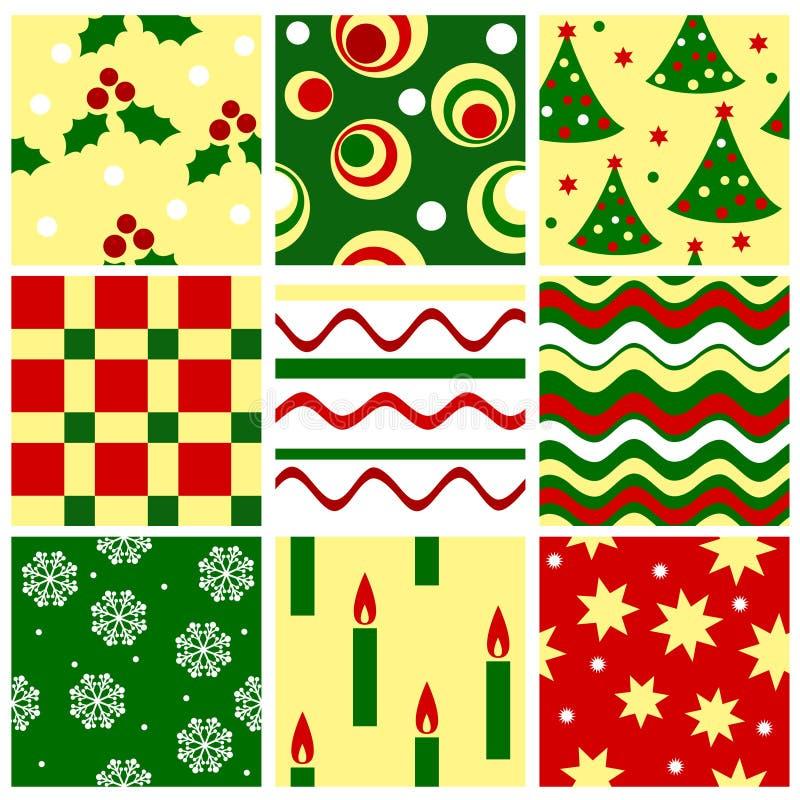 Naadloze Kerstmis vector illustratie