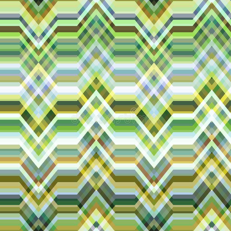 Naadloze Kleuren Abstracte Retro Vectorachtergrond vector illustratie