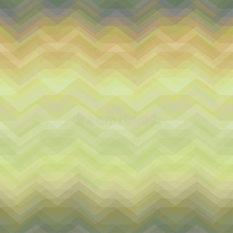Naadloze Kleuren Abstracte Retro Vectorachtergrond stock illustratie