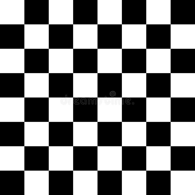 Naadloze moderne het patroon vectorillustratie van de schaakraad EPS10 vector illustratie