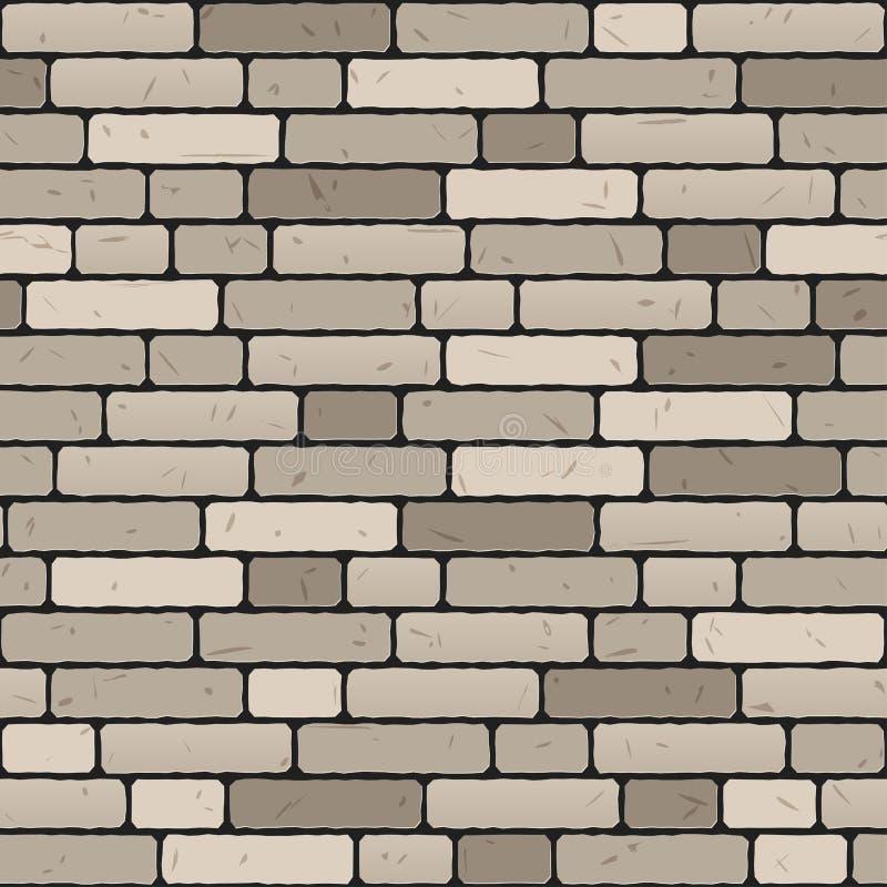 Naadloze muurachtergrond royalty-vrije illustratie