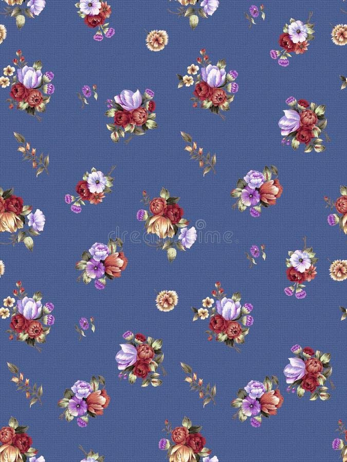Naadloze patroon-035 stock illustratie
