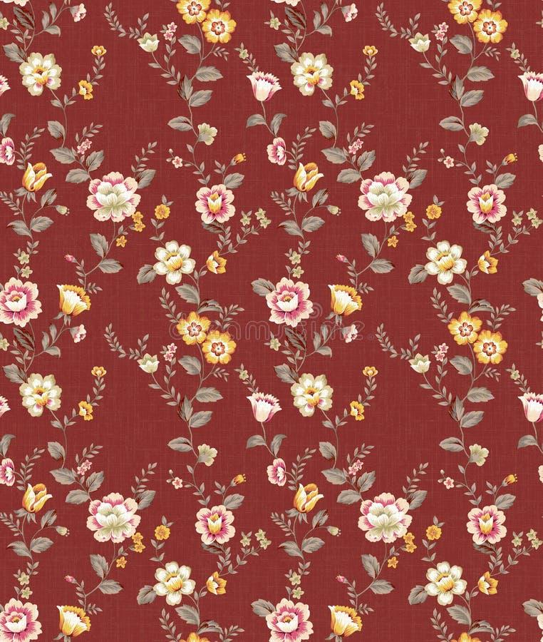 Naadloze patroon-050 royalty-vrije illustratie