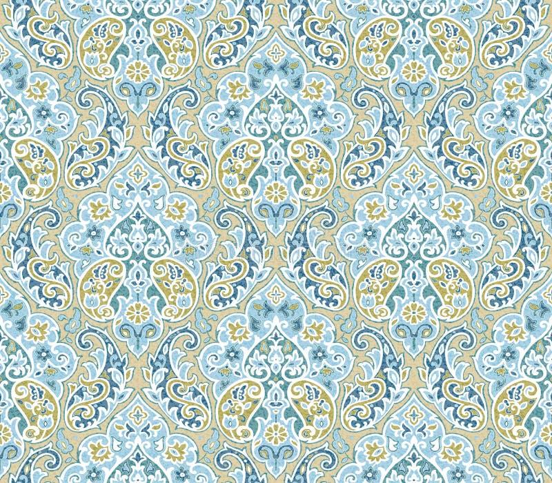 Naadloze patroon-061 stock illustratie