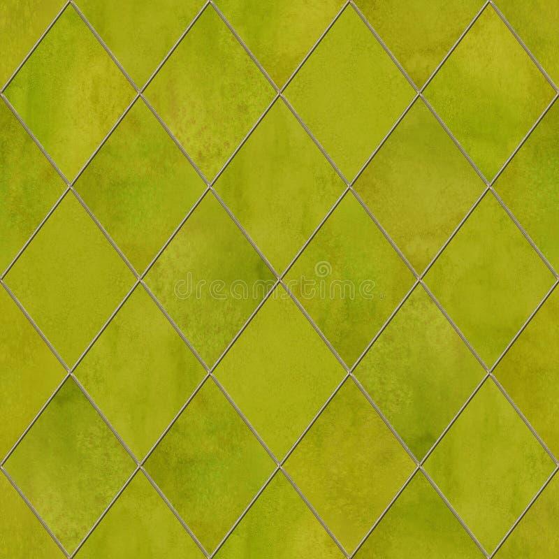 Naadloze patroon van de Argyle het geometrische waterverf stock afbeeldingen