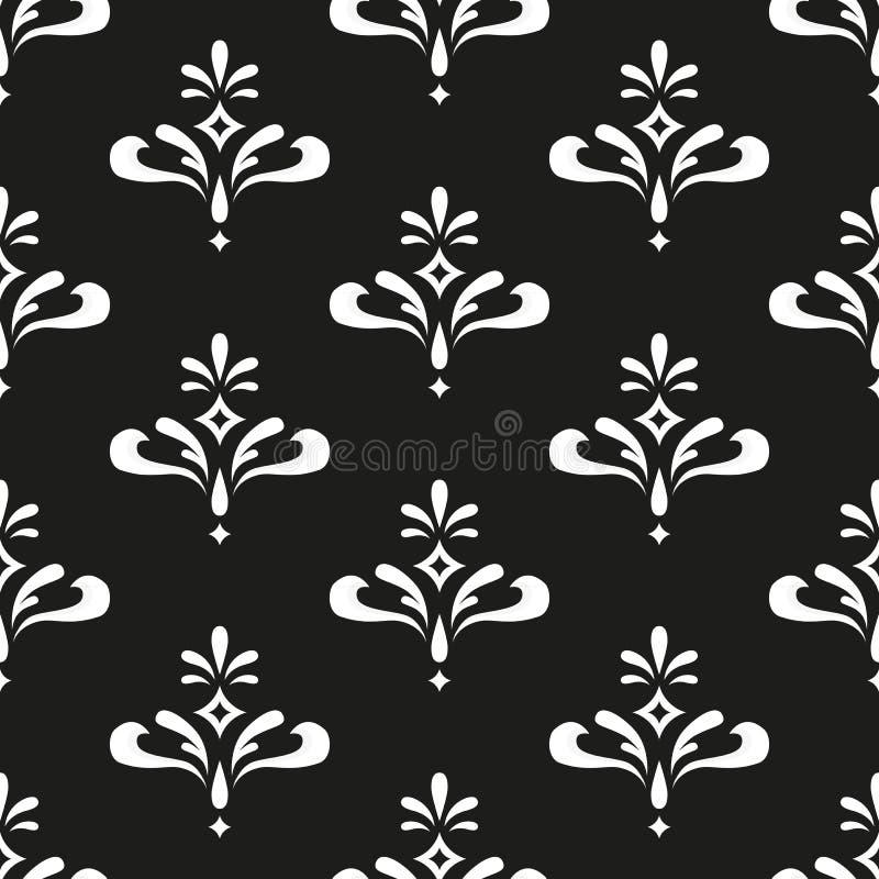 Naadloze patroonachtergrond stock illustratie