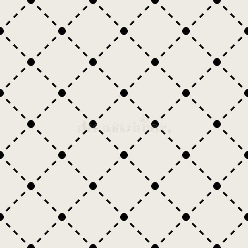Naadloze patroonachtergrond Modern abstract en Klassiek antiek concept Geometrisch creatief ontwerp modieus thema Illustratie stock illustratie