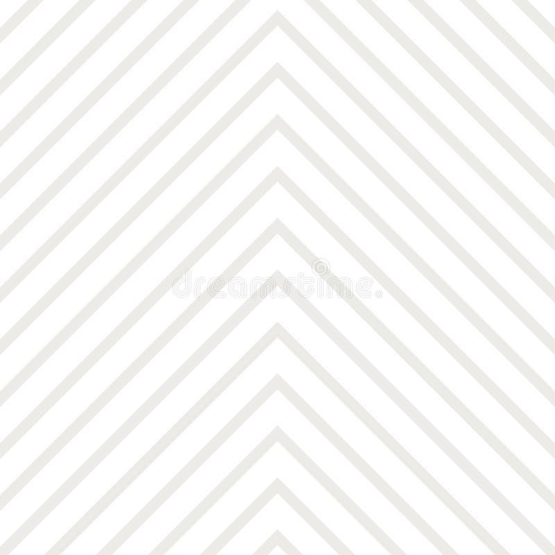 Naadloze Patroongolven geometrisch voor ontwerpstof, achtergronden, pakket, verpakkend document, dekking, manier stock illustratie