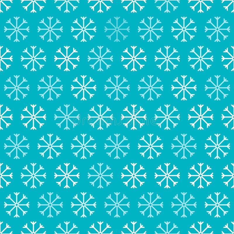 Naadloze sneeuwvlokken royalty-vrije illustratie