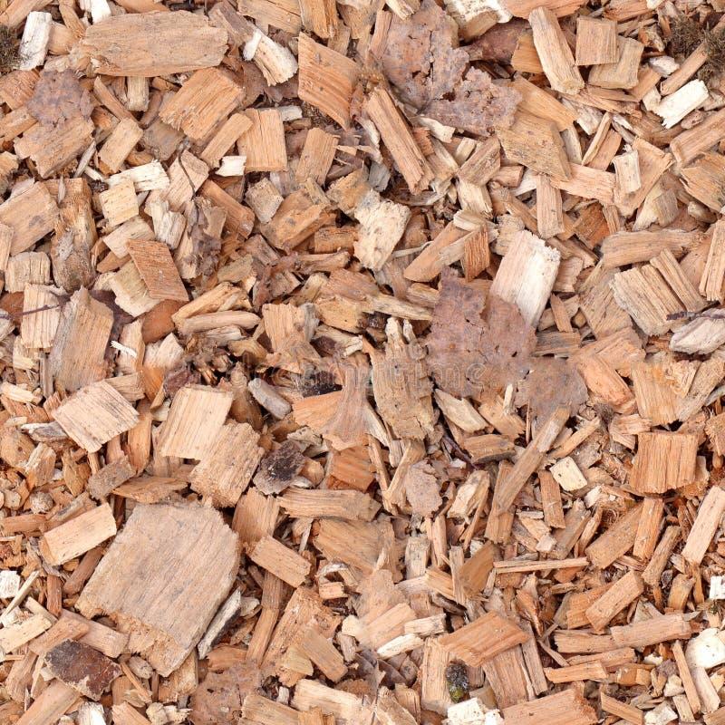 Naadloze tegels van houten knipsels stock fotografie
