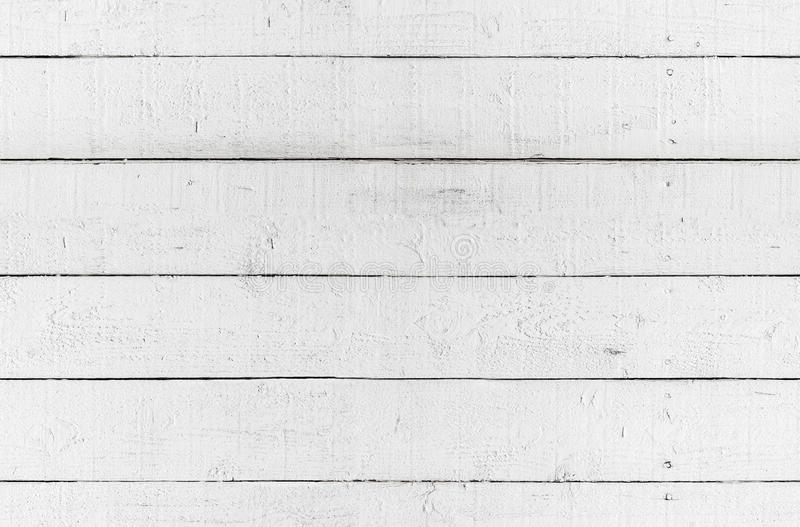 Naadloze textuur als achtergrond, witte houten muur stock foto's