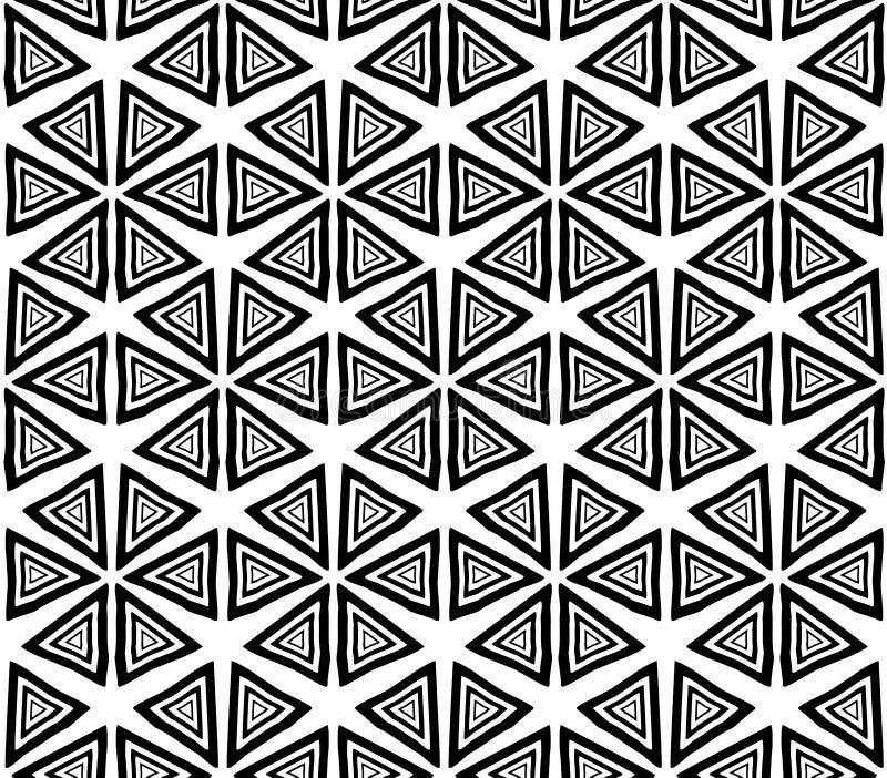 Naadloze textuur in de stijl van hendmeyd vector illustratie