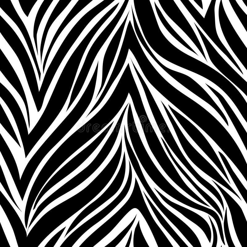 Naadloze textuur gestreepte skinΠroyalty-vrije illustratie
