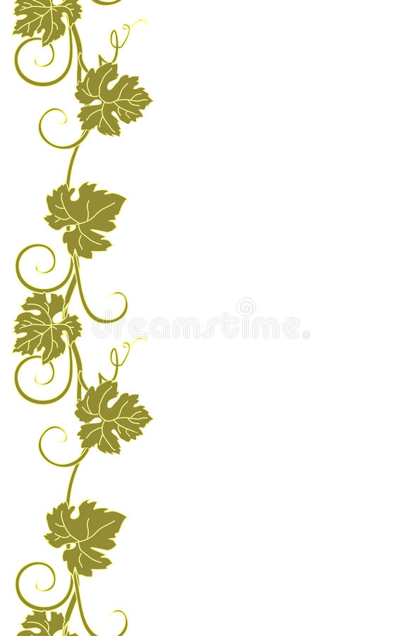 Naadloze textuur met wijnstokken stock fotografie