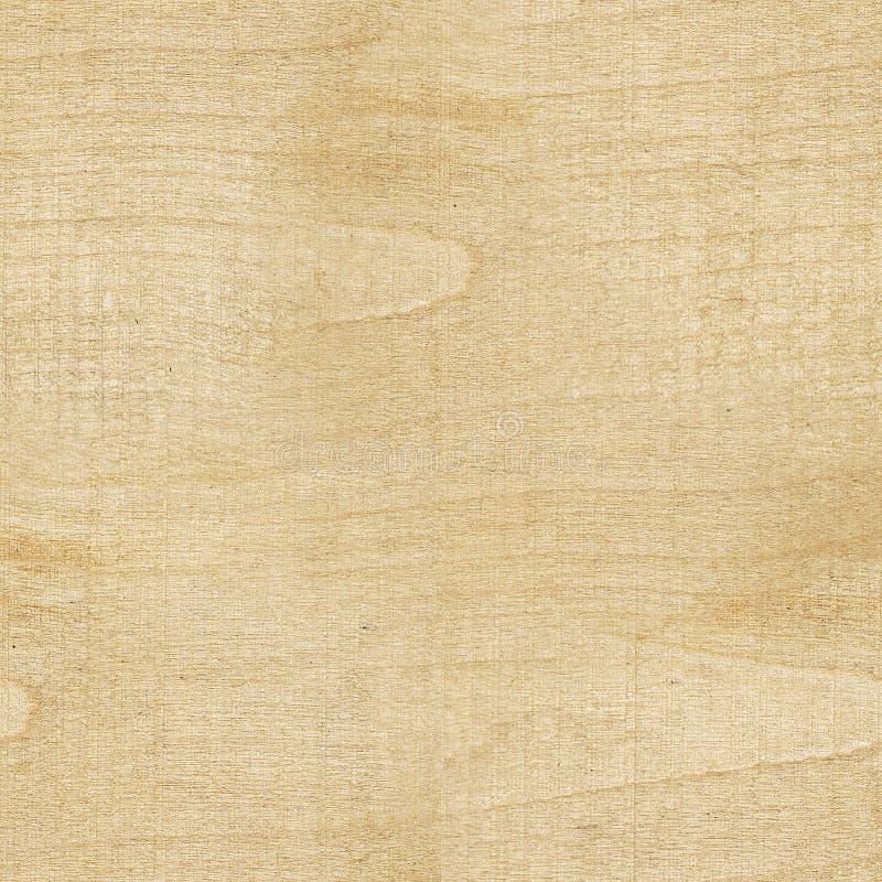Naadloze textuur natuurlijke lichte houten gele kleur De stevige houten raad van de textuurberk Vierkante boomachtergrond stock foto