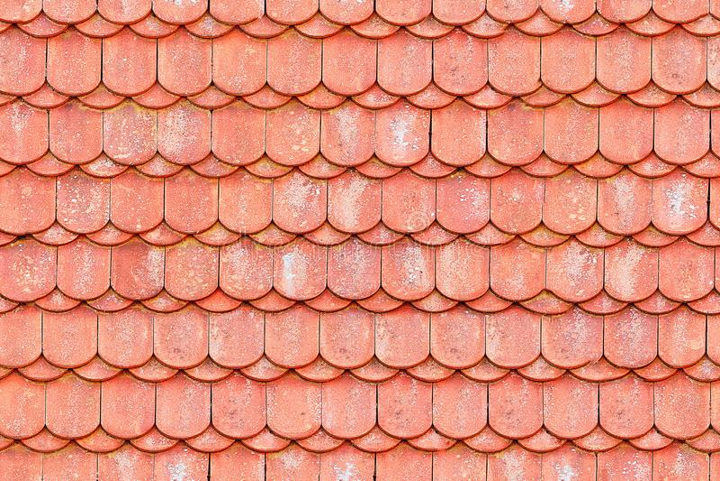 Naadloze textuur van dakspanen stock foto's