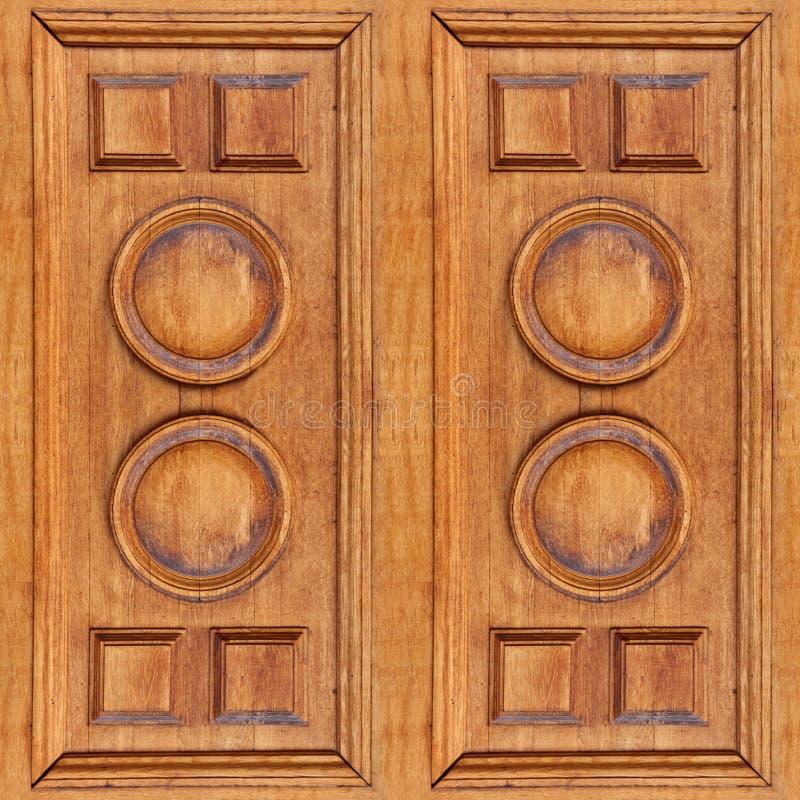 Naadloze textuur van houten panelen met barsten voor aristocratie binnenlands ontwerp royalty-vrije stock foto's