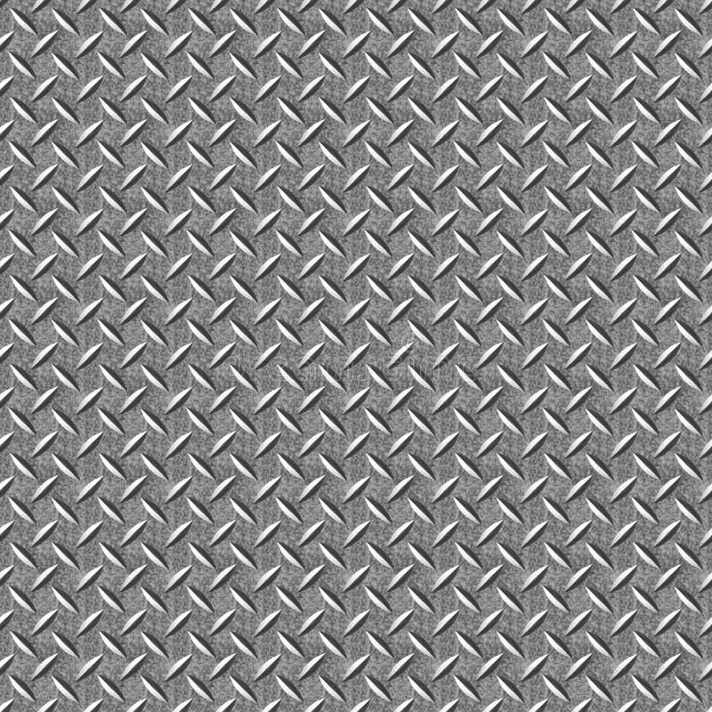 Naadloze textuur van oud metaal met corrosie stock foto's