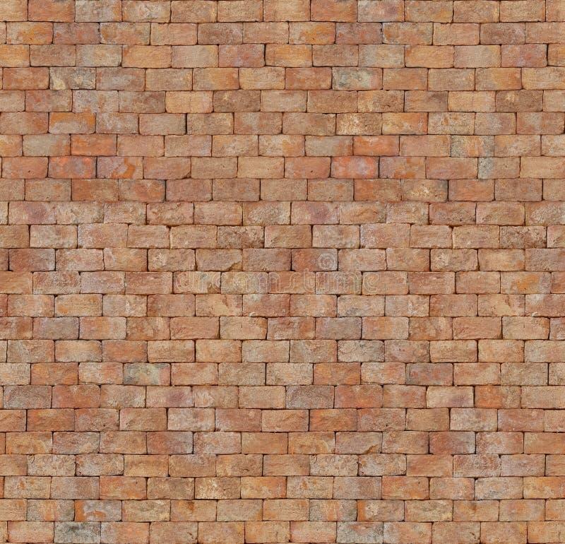 Naadloze textuur van rode bakstenen muur royalty-vrije stock fotografie