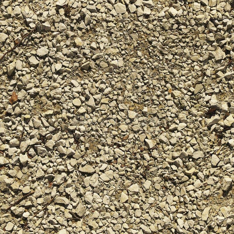 Naadloze textuur van stenen van verschillende grootte stock fotografie