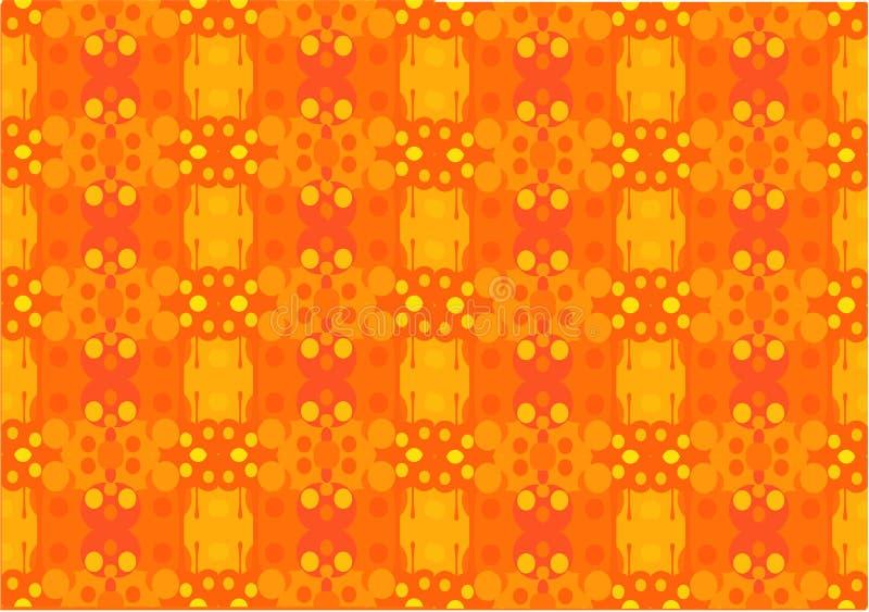 Naadloze vectorachtergrond in heldere kleuren vector illustratie