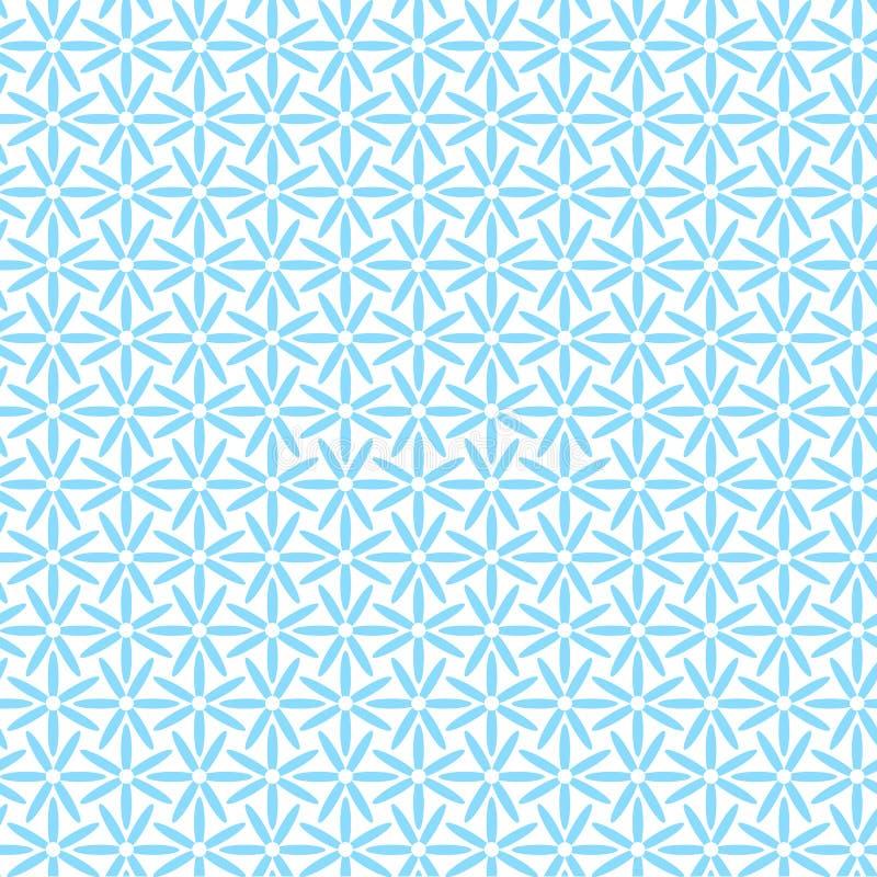 Naadloze vectorachtergrond met bloemen stock illustratie