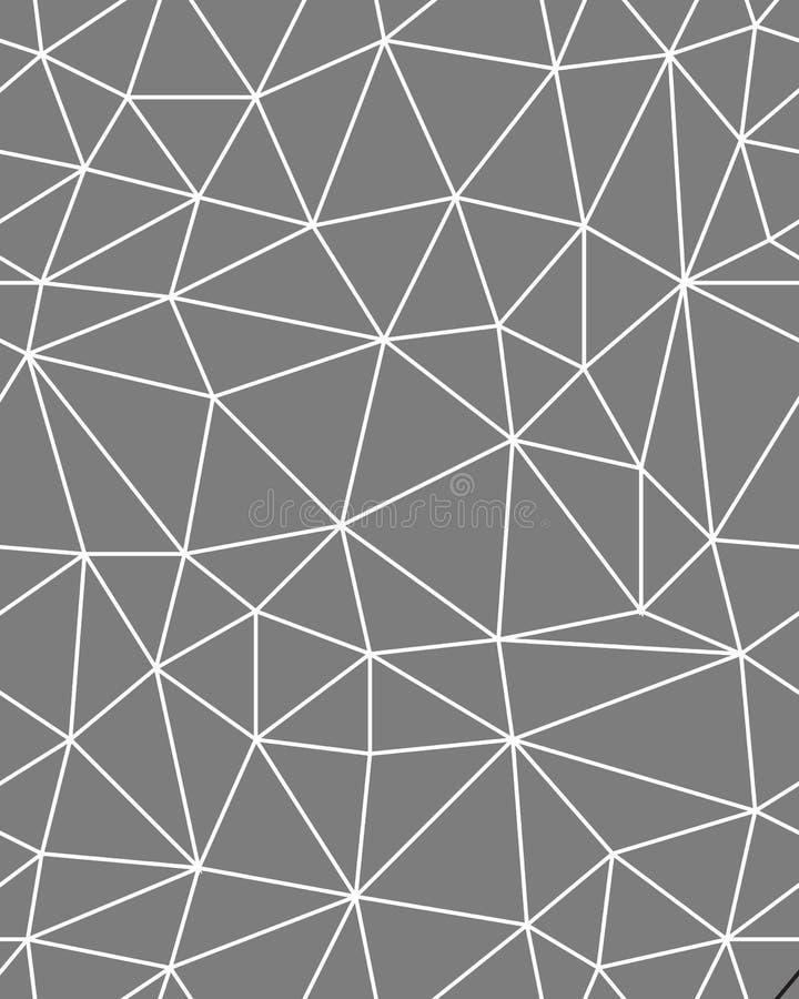 Naadloze veelhoekige patroonachtergrond stock foto's