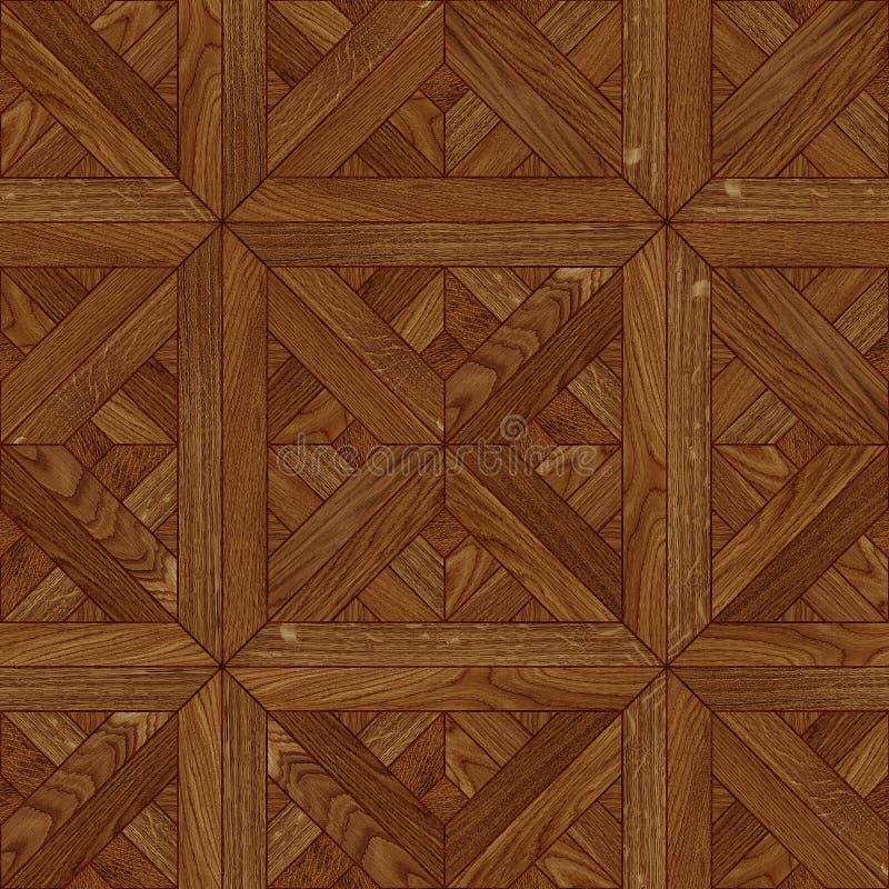 Naadloze vloer houten textuur stock foto