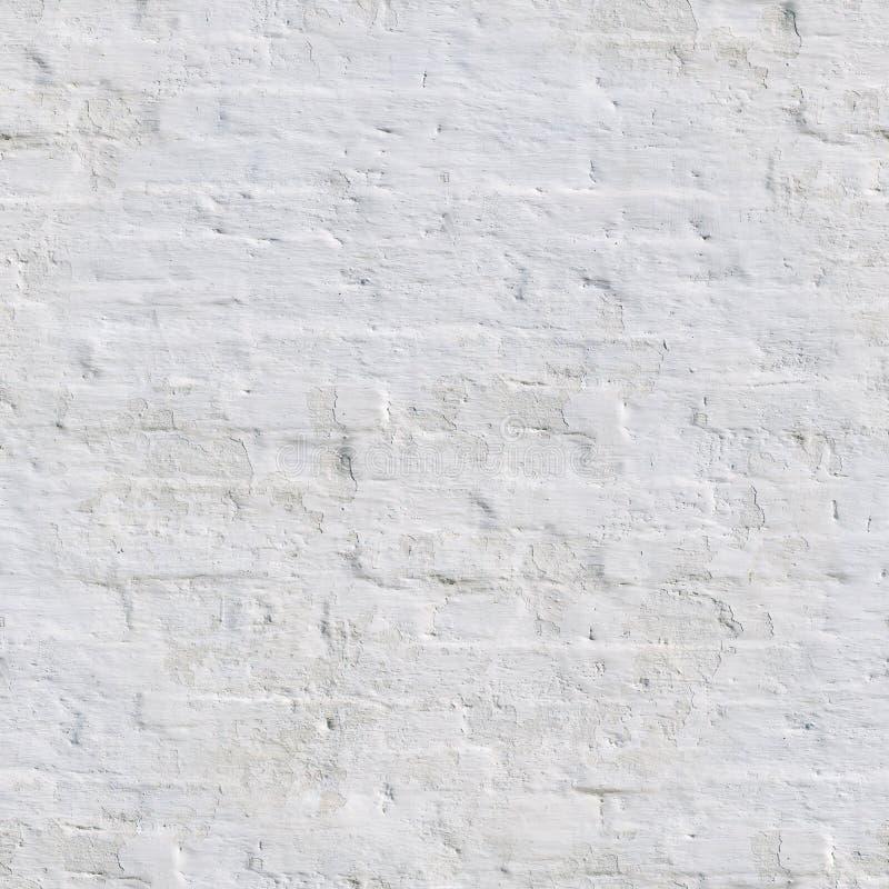 naadloze witte geschilderde bakstenen muur Achtergrond, Textuur stock foto