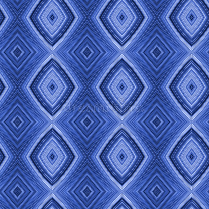 Naadloze Zure Blauwe Diamanten vector illustratie