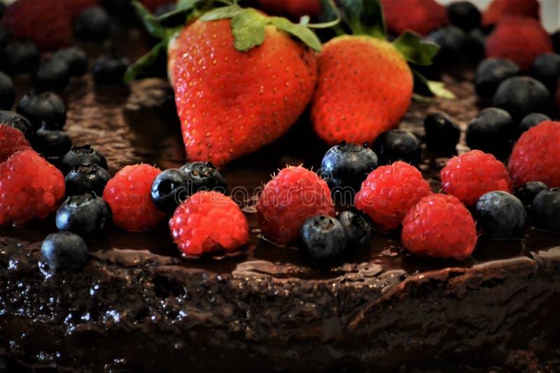 Naakte Cake stock afbeelding