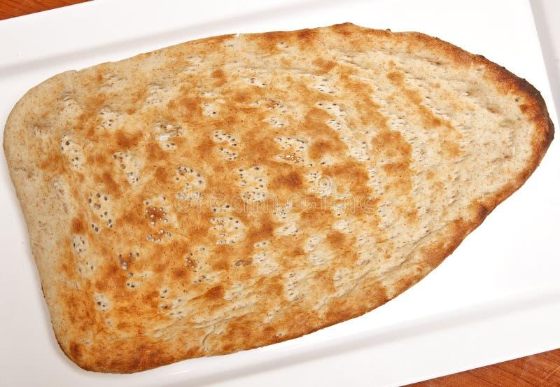 Naan autentyczny Afgański Chleb obrazy royalty free
