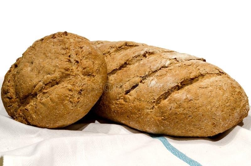 Naar huis gebakken brood. royalty-vrije stock fotografie