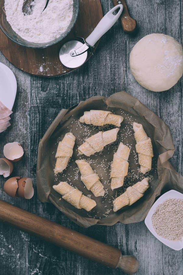 Naar huis gemaakt voedsel stock afbeelding