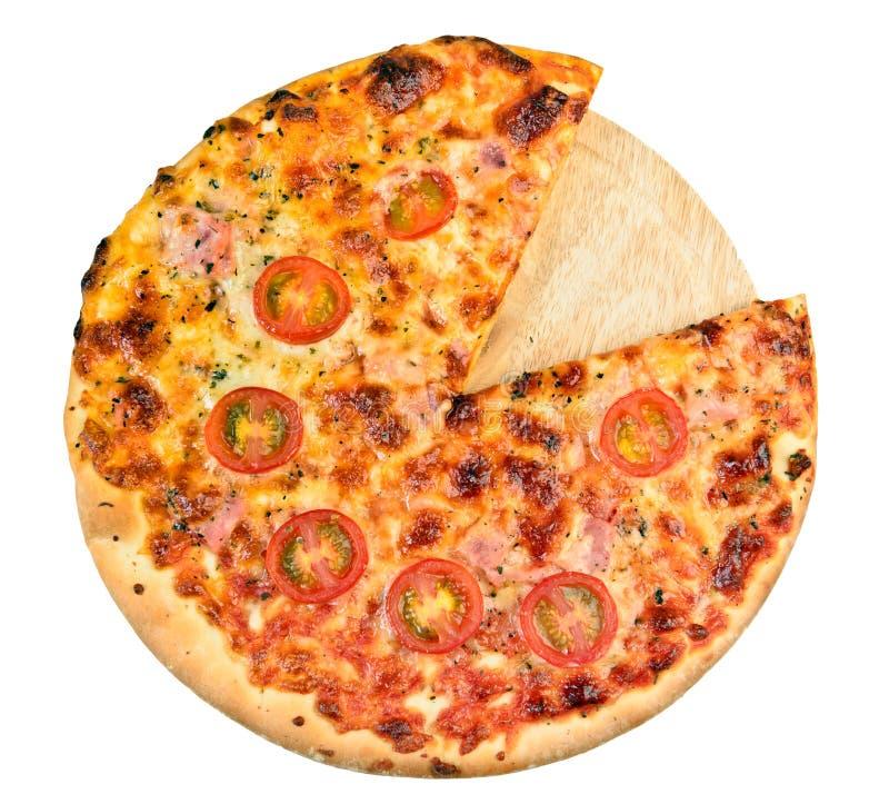 Naar huis gemaakte pizza royalty-vrije stock fotografie