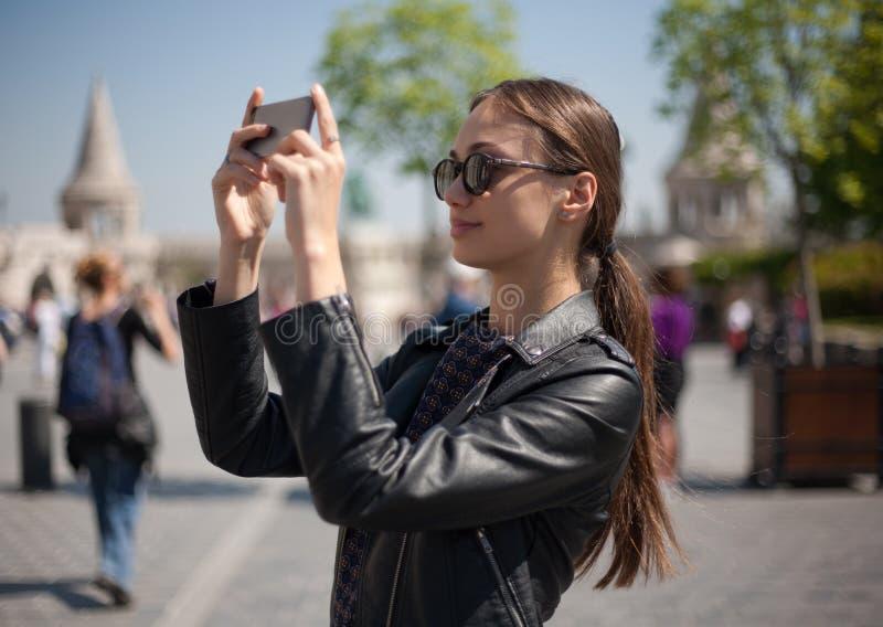 Naar huis het nemen van geheugen royalty-vrije stock foto