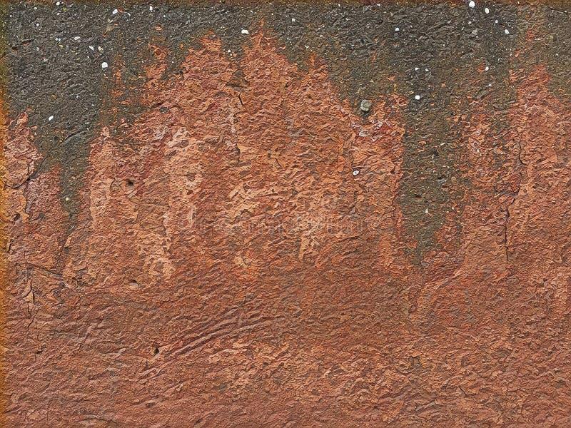 Naar maat gemaakte achtergrondmuurdocument textuur royalty-vrije illustratie