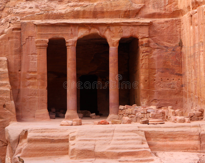 Download Nabatean Petra, Jordan stock photo. Image of historic - 6953978