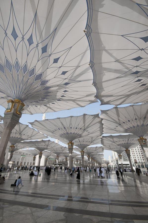 nabawi μουσουλμανικών τεμενώ&n στοκ εικόνα με δικαίωμα ελεύθερης χρήσης