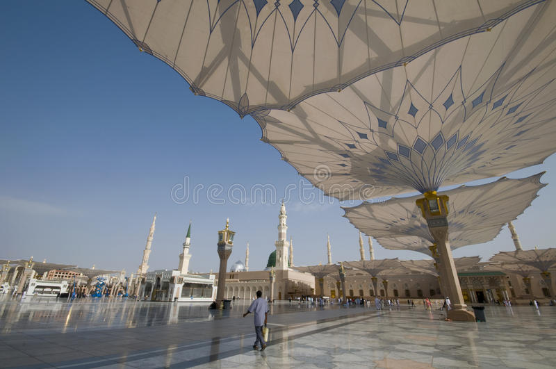 nabawi мечети стоковое фото