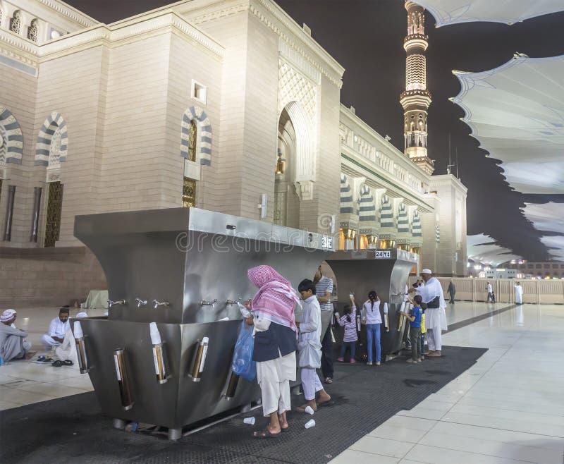 Nabawi moské fotografering för bildbyråer
