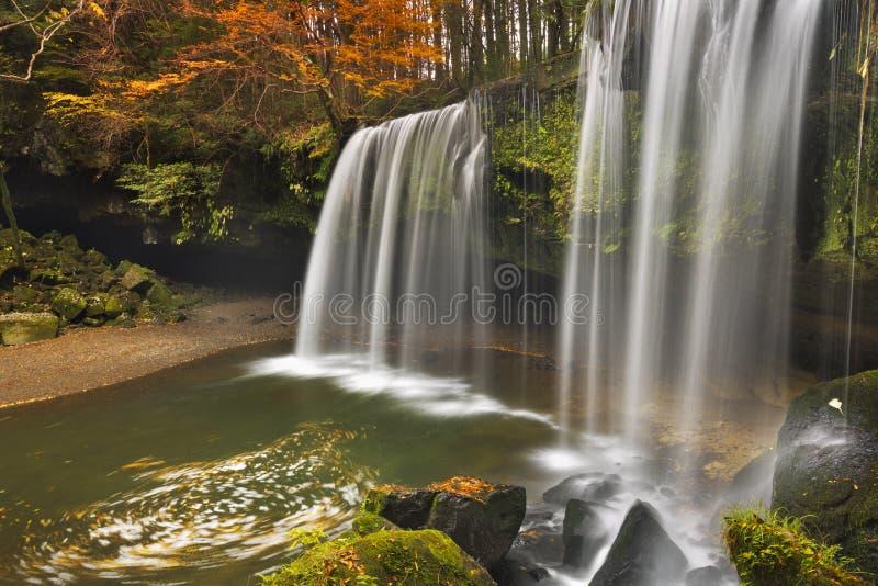 Nabegataki在日本在秋天下跌 库存照片