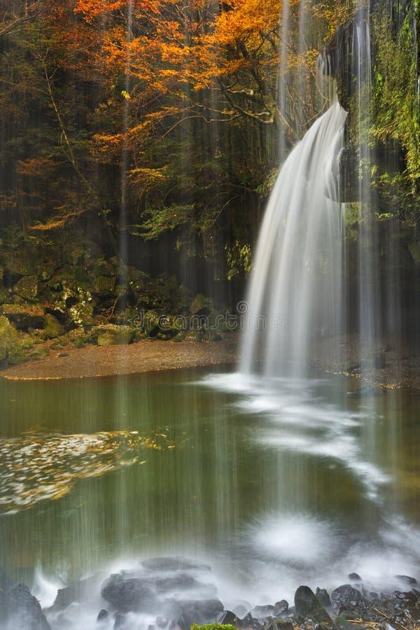 Nabegataki在日本在秋天下跌 库存图片